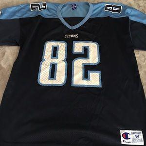 7c92a5b6 Champion Shirts | Vintage Tennessee Titans Jersey | Poshmark